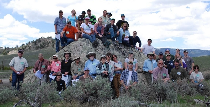 GSA Rocky Mountain section 2014 field trip, Paradise Valley, Yellowstone