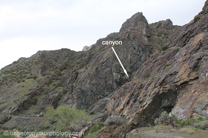 Boysen fault, Owl Creek Mountains, Wyoming