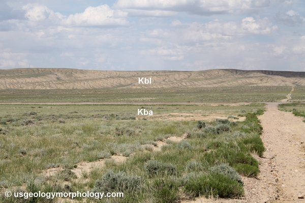 Baxter basin: Baxter Shale and Blair formation; Rock Springs uplift, Wyoming
