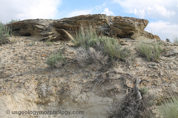 Paleocene Fort Union formation in the eastern part of Rock Springs uplift, Wyoming