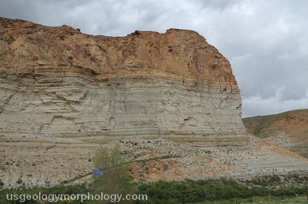 Green River basin: The Palisades near Green River, Wyoming