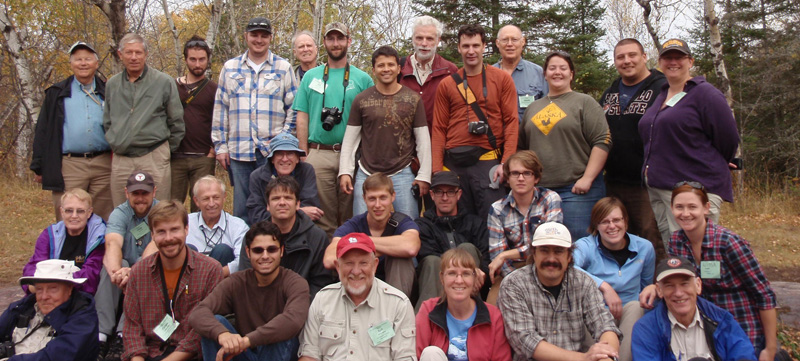 GSA field trip group 2011 Superior Province
