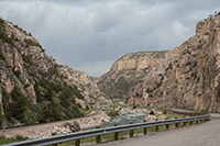 Wind River canyon, Wyoming thumbnail